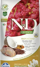 Adu Med Quinoa Caille coco 7kg Farmina ND Skin&Coat Dog