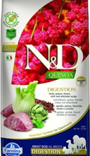 Adu Med Quinoa Agneau Fenouil 7kg Farmina ND Digestion Dog