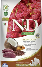 Adu Med Quinoa Cerf coco 7kg Farmina ND Skin&Coat Dog