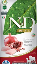 Adult Med/Max Poulet 12kg Farmina ND Grain Free Prime